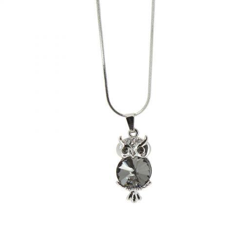 TURID owl necklace