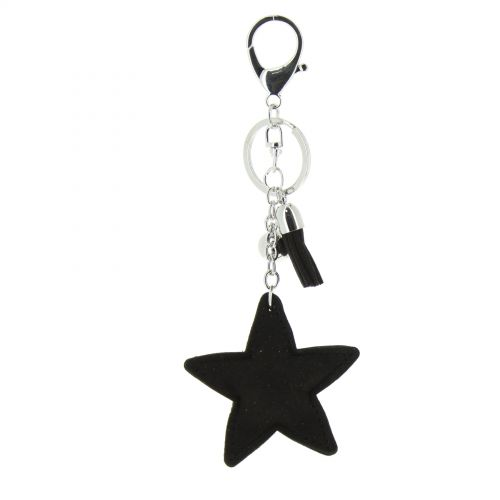 Porte-clefs, bijou de sac étoile EUNOMIA
