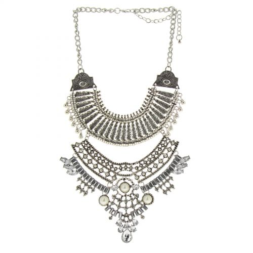 SYLVAINE plastron necklace