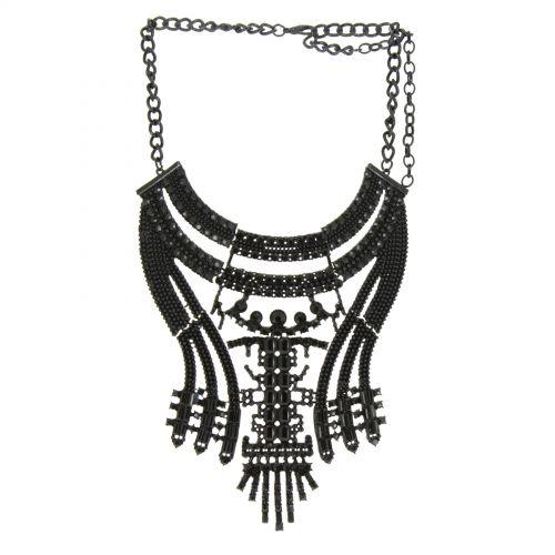 Alfrida plastron fashion necklace