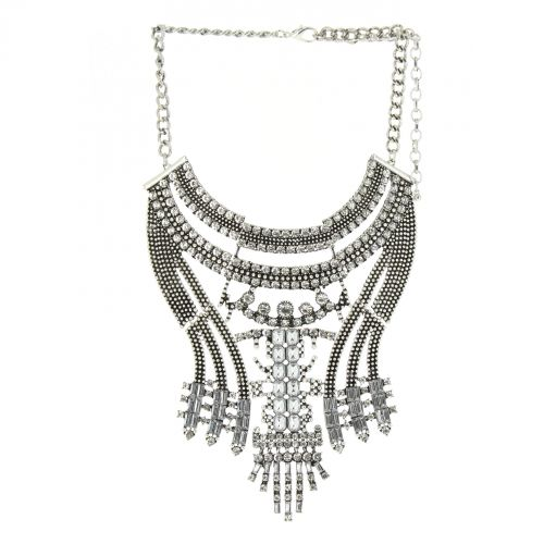 Alfrida plastron fashion necklace
