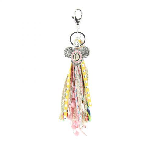 Porte-clefs, bijou de sac JOCEIUS Rose - 10454-40460