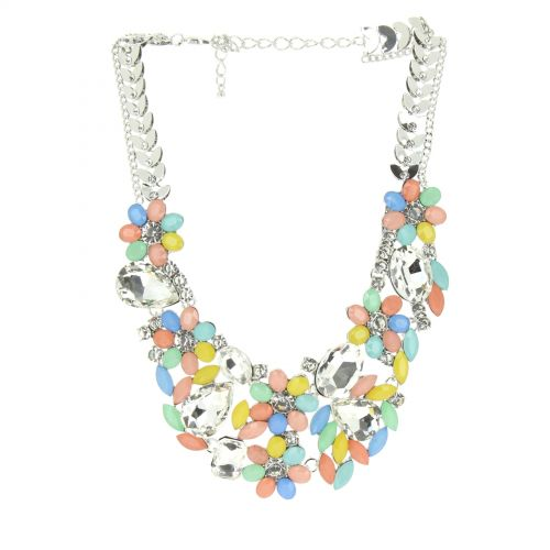 DAGNY plastron necklace