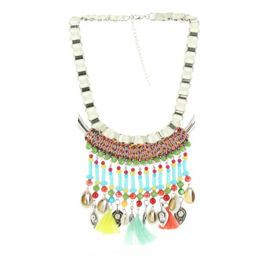 Collier pendantes Nadja Multicouleur - 10602-40487