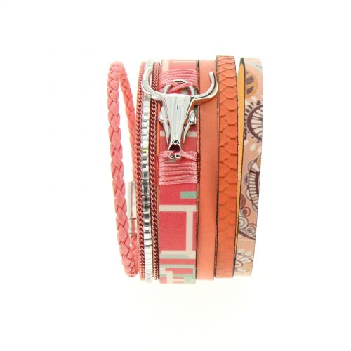Judit cow head cuff bracelet