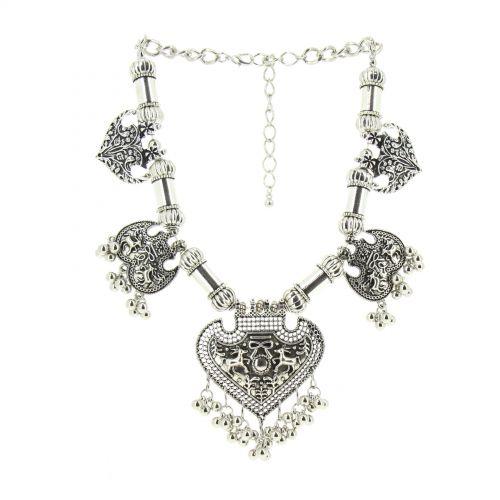 Collier pendante Alice Argenté - 10647-40696