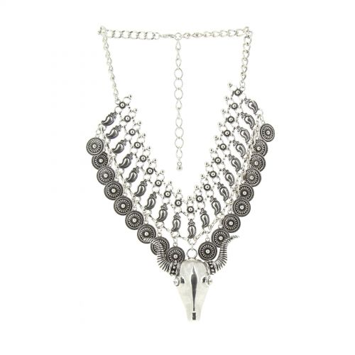 MOLLY plastron necklace