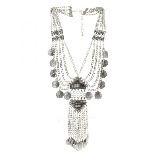 Kristina plastron necklace