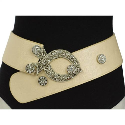 7 cm wide leatherette belt, 2850