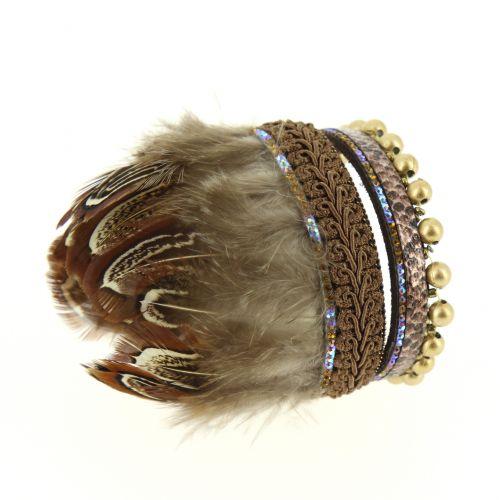 RUCHIRA feathers Cuff bracelet