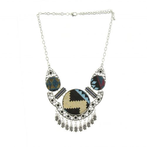 Capucine metal necklace