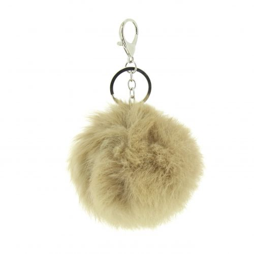 FULKI 90mm fur key ring, bag's jewel