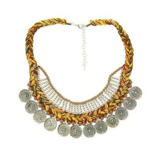Callia metal necklace