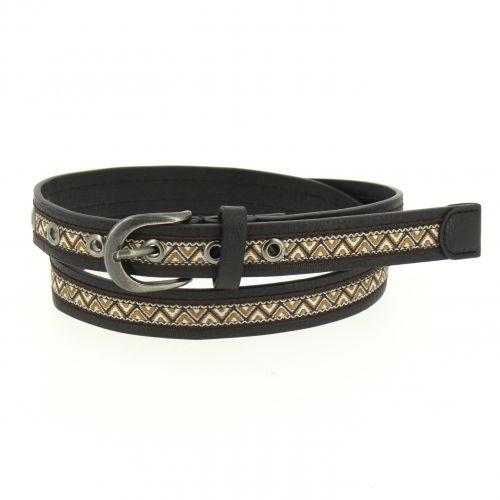 Cinturón de cuero para mujer, 2.30 cm de ancho CHAFIA