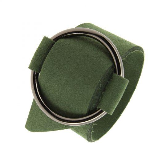 Turia suedine cuff bracelet