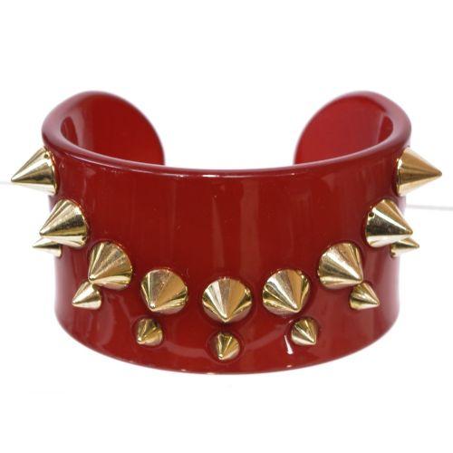 Bracelet femme fantisie en acrylique à piques