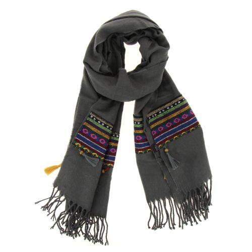 Grande sciarpa scialle moda donna, MADALOUN