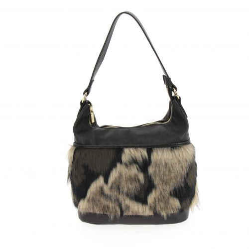Madisone faux fur bag