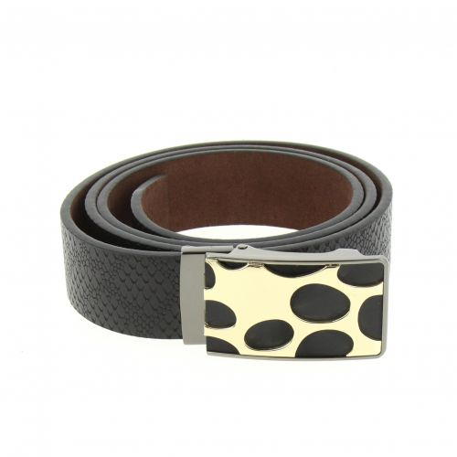 Leather Automatic Buckle Belt LEYLA