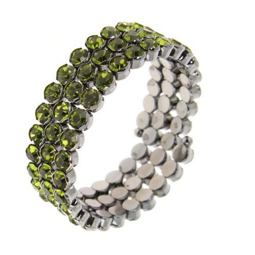 Emiline strass wrap bracelet