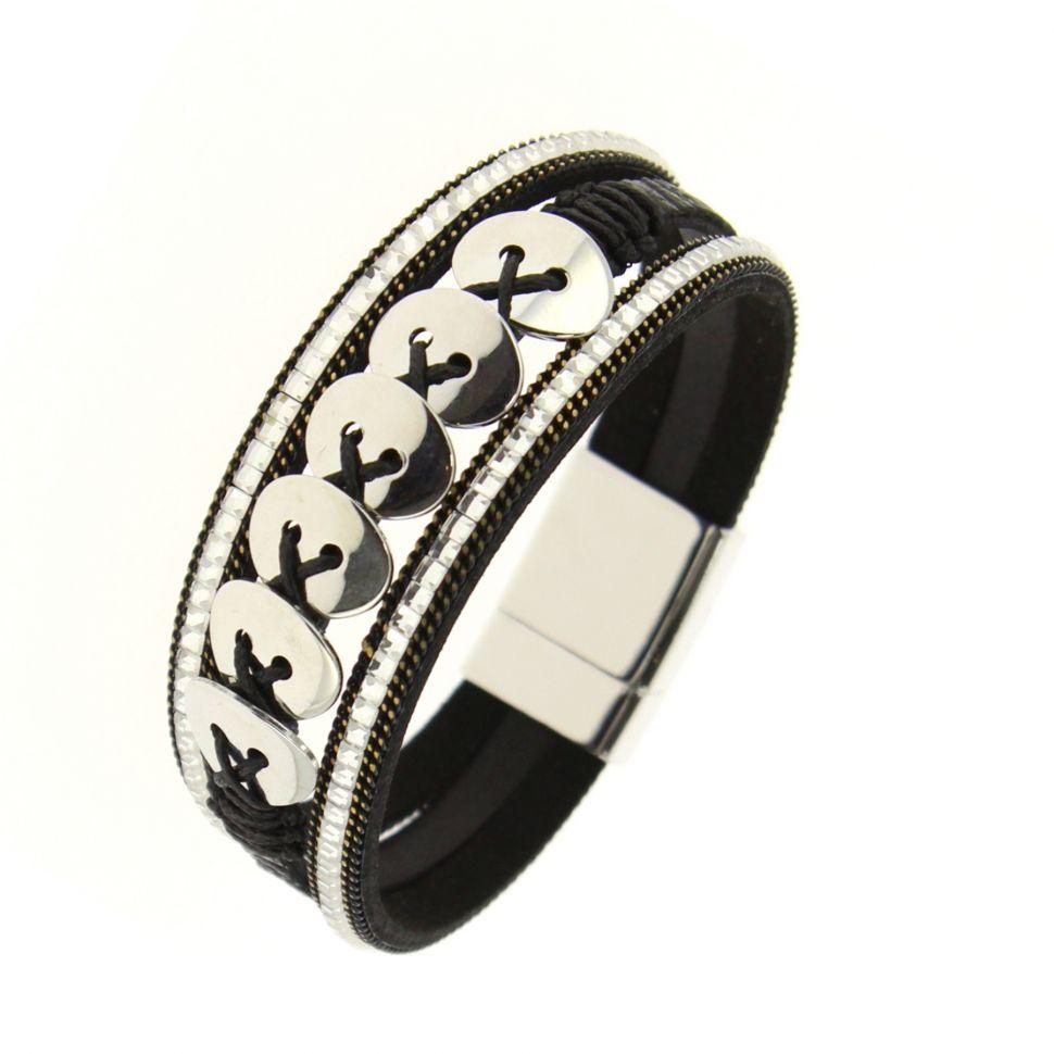 Bracelet manchette Lucine