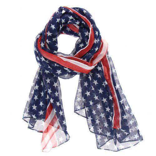 Grande sciarpa scialle moda donna, VIOLAINE