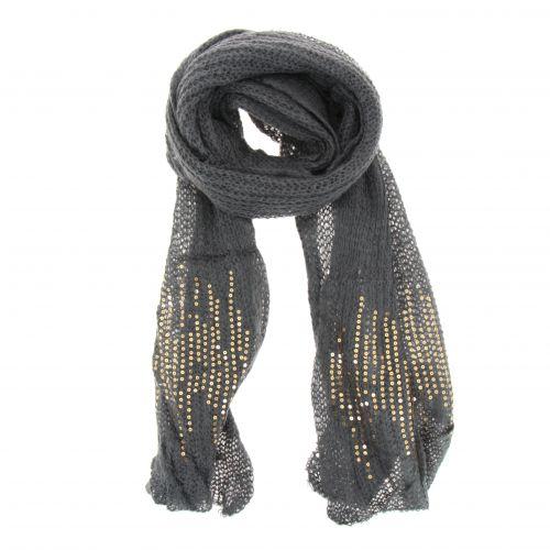 Grande sciarpa scialle moda donna, JENAY