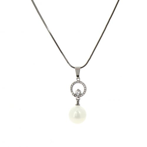 pendente di perle collana Penelope