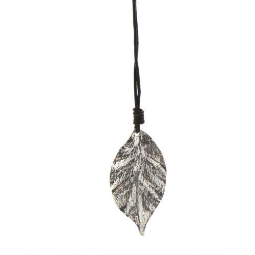 Urane oversize butterfly long necklace