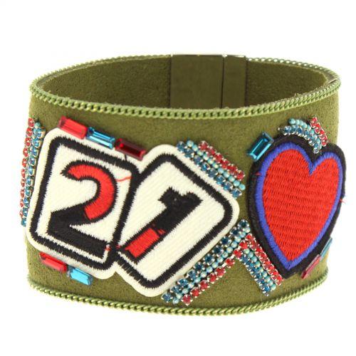 Bracelet cuff LEOLIA