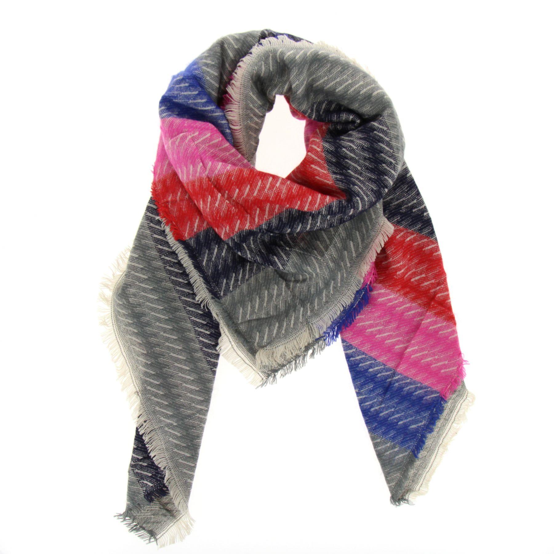 foto ufficiali 5afb9 41936 Grande sciarpa scialle moda donna, ELLYN