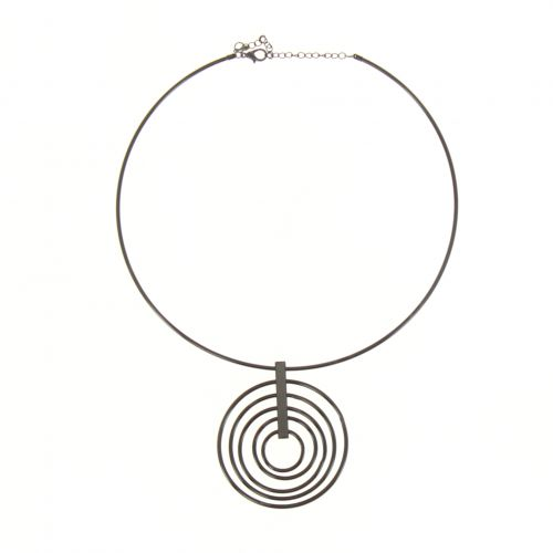 Luna velor choker necklace