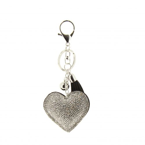 keychain, bag's jewel, heart SIBYLLE