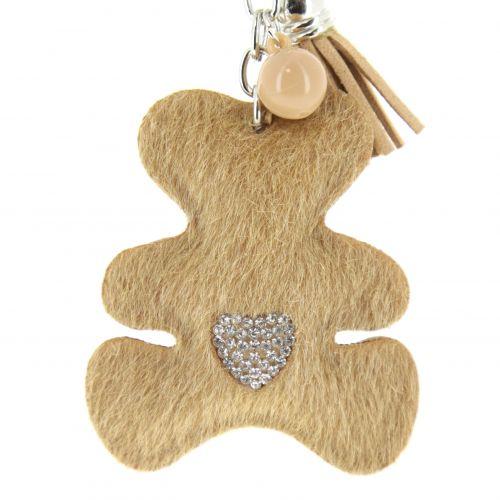 Porte-clefs, bijou d'ourson Cataleya