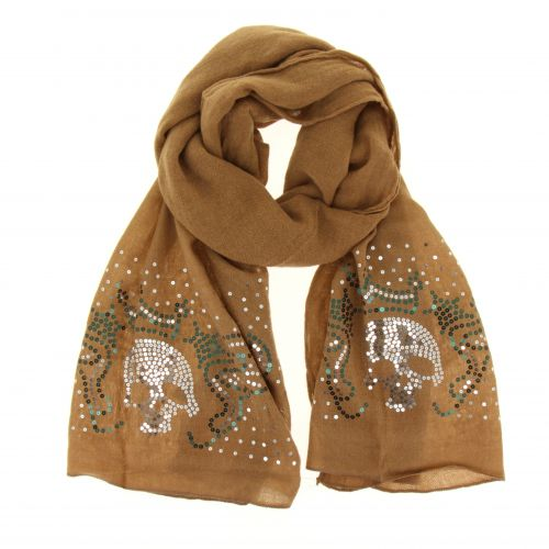 Grande sciarpa scialle moda donna, MALIA