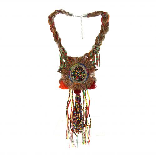 Collier pendants ethnique oversize PAULA