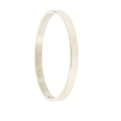 Stainless steel bracelet, JACQUY