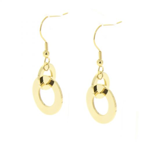 Boucles d'oreilles inoxydable Houmeyra