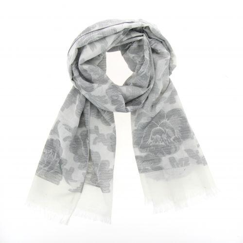Grande sciarpa scialle moda donna, FLORETTE