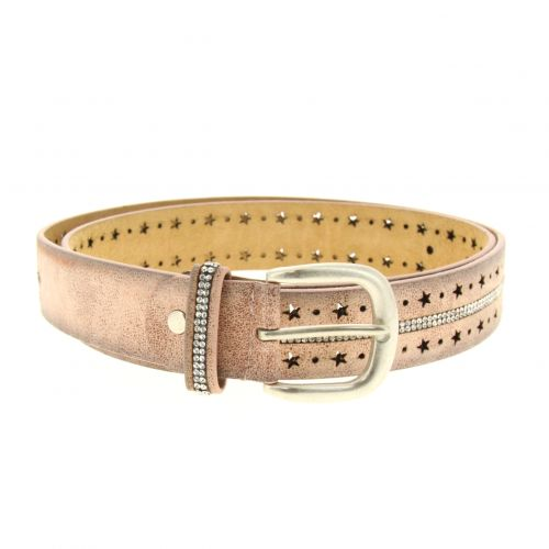 Cystal Strass, Star,Women leather belt, DAKOTA