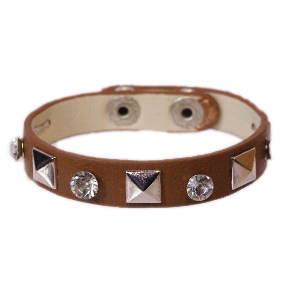 Bracelet similicuir Cafilma Marron - 1848-4651
