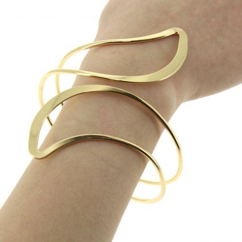 Bracelet cuff metal CINDY