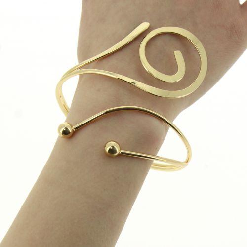 Bracelet manchette métal HATICE