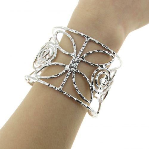 Bracelet cuff metal KAIA