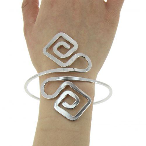 Bracelet manchette métal MELIYA