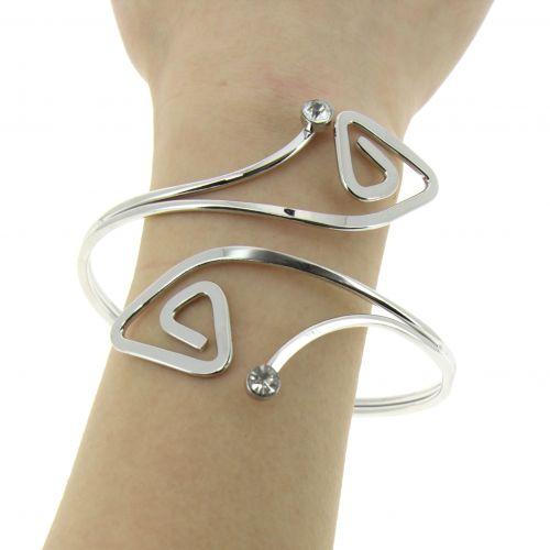 Bracelet cuff metal KEREN