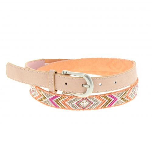 2,30 cm wide with beads Belt, MILAH