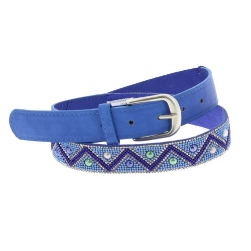 2,80 cm wide with beads Belt, LYSANNA