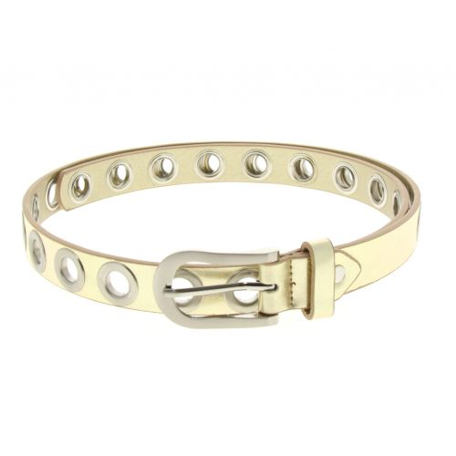 2cm wide with eyelets Belt, PERINNE