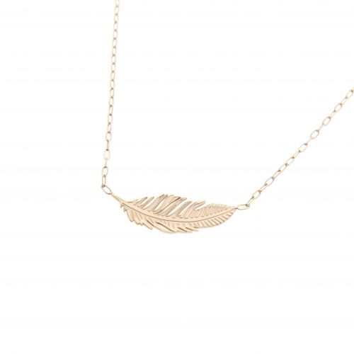 Feather necklace, SOLIA